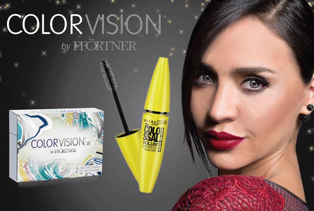 Color Vision Limited Christmas Collaboration with Maybelline